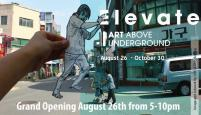Elevate, Art above Underground