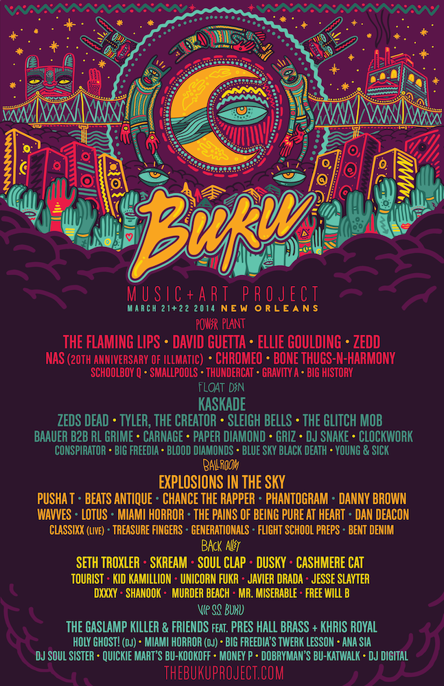 CLVR US will be VJs on Main Stage for Buku 2014.