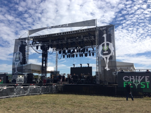 CLVR US provided video content and operators for Main Stage at Chivefest Dallas in November 2014.